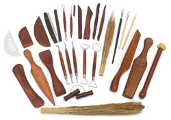 Deluxe Pottery Tools, Set of 24