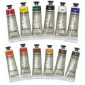 Blick Artists' Acrylic Set - Assorted, Set of 12 color, 2 oz tubes