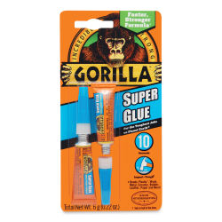 Gorilla Super Glue - Pkg of 2, 3g Tubes