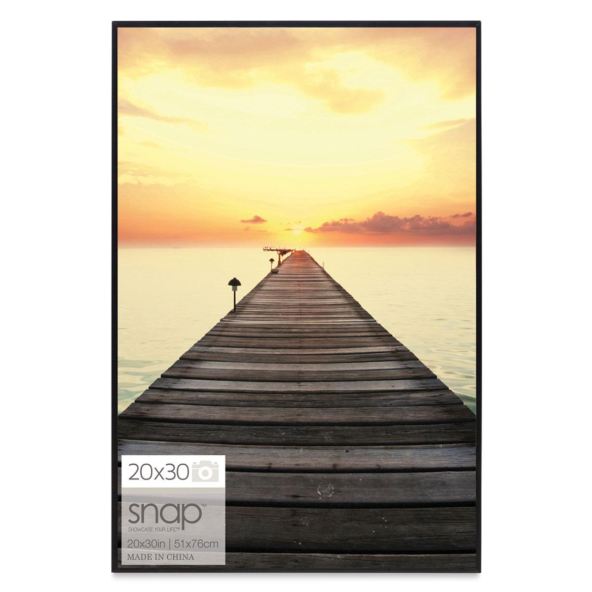 Nielsen Bainbridge Snap Poster Frame - Black, 20 x 30
