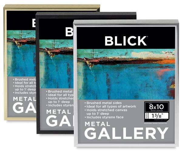 Blick Metal Frame - 10'' x 10'' x 1'', Black