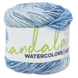 Lion Brand Mandala Watercolors Yarn - Skyway, 164 yards