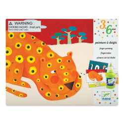 Djeco Le Petit Artist Painting Kit - Finger Tracks