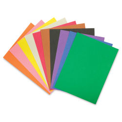RiteCo Construction Paper - Assorted Colors, 9'' x 12'', 50 Sheets