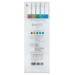Uni Emott Fineliners - Set of 5, Island Colors