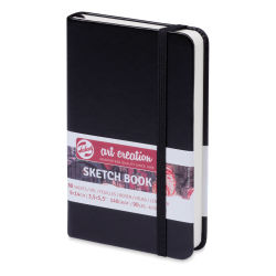 "Talens Art Creations Sketchbook - Black, 5.5"" x 3.5"""