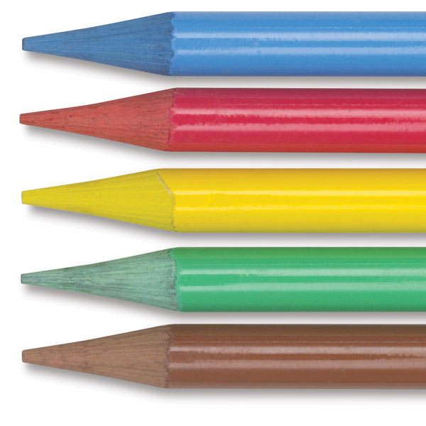 Koh-I-Noor Woodless Colored Pencil - Assorted Colors, Set of 24