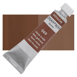 Caran d'Ache Gouache Studio Tubes and Sets - Burnt Sienna, 10 ml, Tube