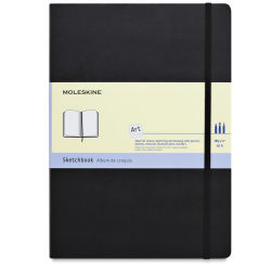 Moleskine Folio Book - Sketchbook, 11-3/4'' x 8-1/4'', 96 Pages