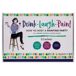Drink Laugh Paint How to Host a Painting Party Kit