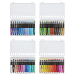 Kingart Mixed Media Gel Sticks - Set of 48, Assorted Colors (in cases)