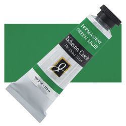 Shiva Casein Colors - Permanent Green Light, 37 ml tube