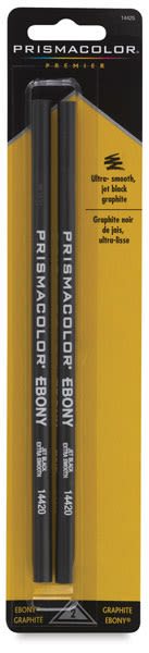 Ebony Pencil, Pkg of 2