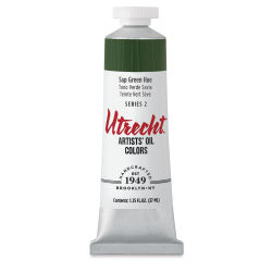 Utrecht Artists' Oil Paint - Sap Green Hue, 37 ml tube