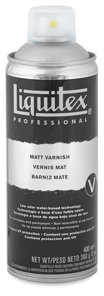 Matte Spray Varnish