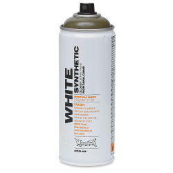 Montana White Spray Paint - Wild Willy, 400 ml can
