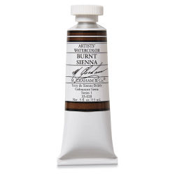 M. Graham Artists' Watercolor - Burnt Sienna, 15 ml Tube