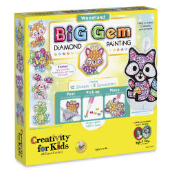 Faber-Castell Big Gem Diamond Painting Set - Woodland Characters