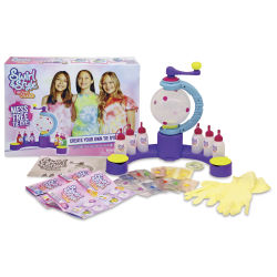 Swirl and Style Tie Dye Design Station Kit Contents of Box