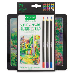 Crayola Signature Blend & Shade Colored Pencils - Set of 24