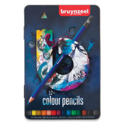 Bruynzeel Colored Pencils - Set of 12, Blue Packaging