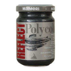 Maimeri Polycolor Vinyl Paints - Reflect Black, 140 ml