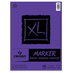 Canson XL Marker Pad - 9'' x 12'', 100 Sheets