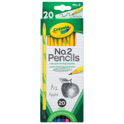 Crayola No. 2 Pencils - Set of 20