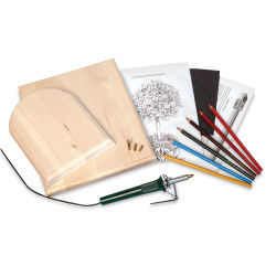 Walnut Hollow Creative Woodburning Kit - Deluxe Kit