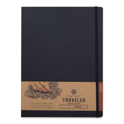 Pentalic Traveler Draw Pocket Journal - 12'' x 9'', 120 pages