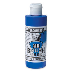 Jacquard Airbrush Paint - 4 oz, Metallic Blue