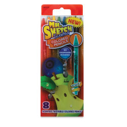 Mr. Sketch Scented Twistable Colored Pencils - Set of 8