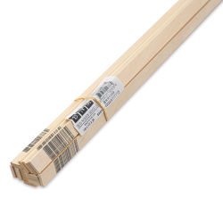 "Bud Nosen Basswood Sticks - 1/8"" x 1/2"" x 24"", 15 Sticks"
