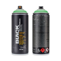 Montana Black Spray Paint - Revolt Green, 400 ml can