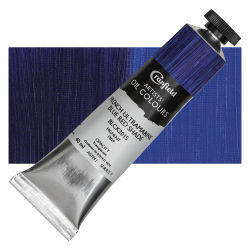 Cranfield Artists' Oils - French Ultramarine Blue Red Shade, 40 ml, Tube