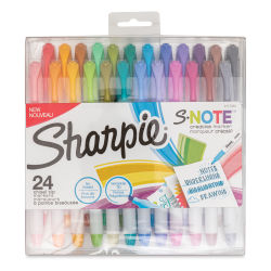 Sharpie S-Note Creative Markers - Set of 24