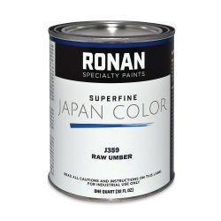 Ronan Superfine Japan Color - Raw Umber, Quart