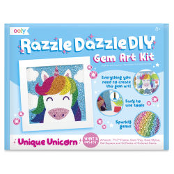 Ooly Razzle Dazzle DIY Gem Art Kit - Unicorn