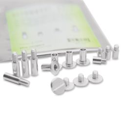 Screwpost Pack, Zinc