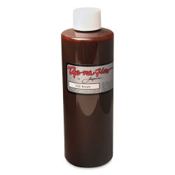Jacquard Dye-Na-Flow Fabric Color - Brown, 8 oz bottle