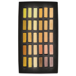 Terry Ludwig Soft Pastels - Stunning Yellows, Set of 30