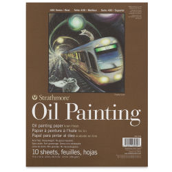 Strathmore 400 Series Oil Painting Pad - 9'' x 12'', 10 Sheets