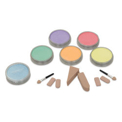 PanPastel Artists' Painting Pastels Set - Pearlescent Colors, Set of 6