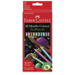 Faber-Castell Red Line Metallic Pencil Set - Set of 12