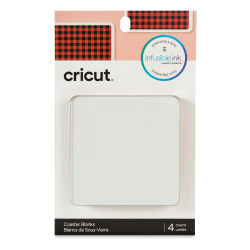 Cricut Infusible Ink Coaster Blanks - Square, Set of 4