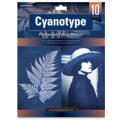 Jaquard Cyanotype - Pretreated Fabric, 8-1/2'' x 11, 10 Sheets