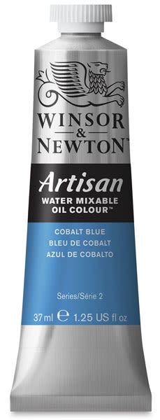 Winsor & Newton Artisan Water Mixable Oil Color - Cobalt Blue, 37 ml tube