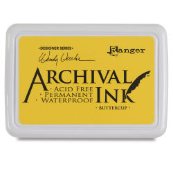 Ranger Archival Ink Pad - Buttercup Ink