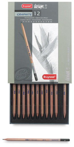 Graphite Penicls, Set of 12