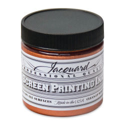Jacquard Screen Printing Ink - Copper (Metallic), 4 oz